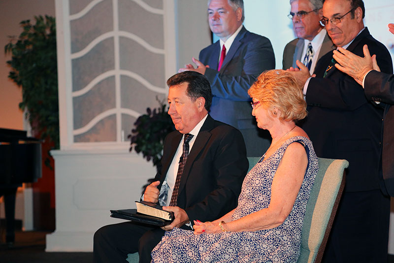 Dr. Ponz installed as President of Florida Bible College